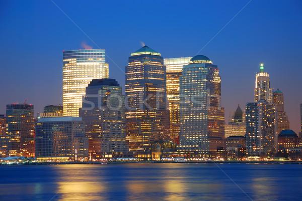 URBAN CITY SKYLINE  Stock photo © rabbit75_sto