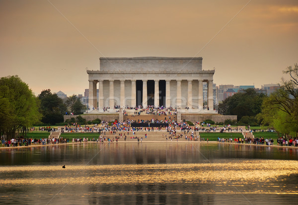 Lincoln Memorial, Washington DC Stock photo © rabbit75_sto