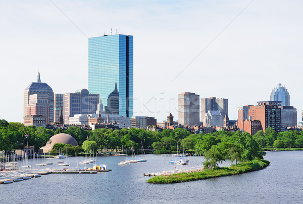 Boston skyline Stock photo © rabbit75_sto