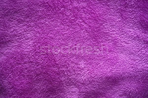 фиолетовый бархат текстуры красоту цвета шелковые Сток-фото © rabel