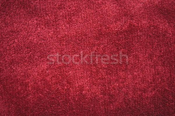 Kırmızı kadife doku soyut uzay renk Stok fotoğraf © rabel