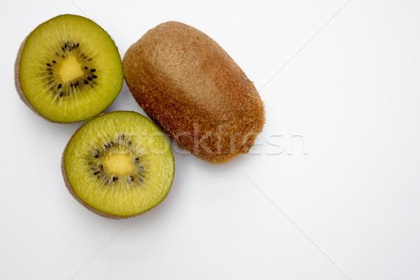 Kiwi isolé santé fond tropicales dessert Photo stock © rabel