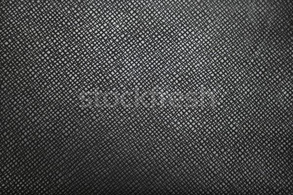 Cuir texture design noir sombre modèle Photo stock © rabel