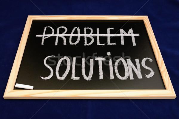 проблема решения бизнеса школы свет фон Сток-фото © rabel