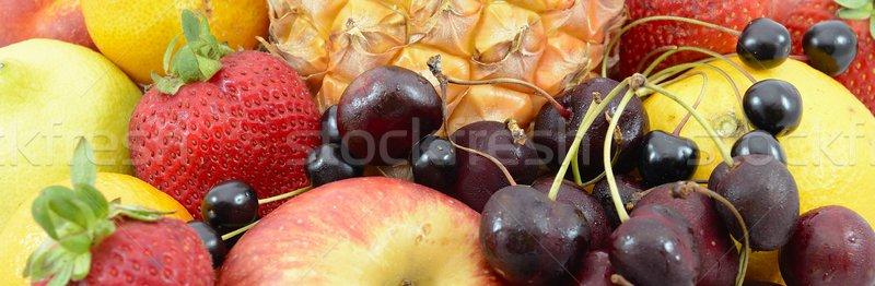 Fruits santé citron raisins tropicales ananas Photo stock © rabel
