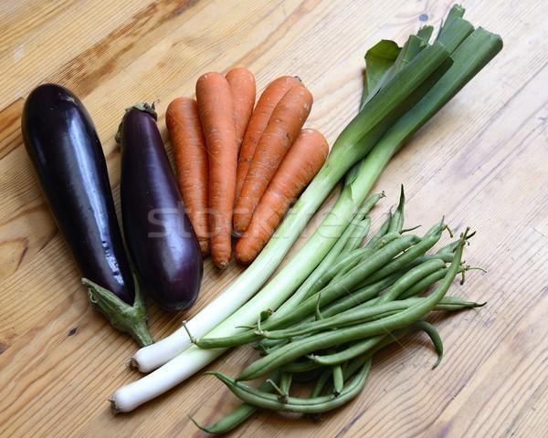 овощей саду Салат еды приготовления диета Сток-фото © rabel