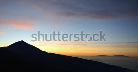Tenerife coucher du soleil Photo stock © rabel