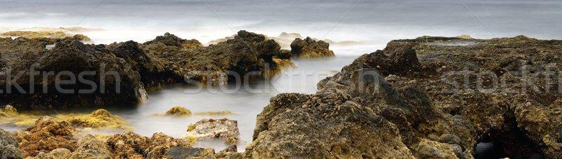 rocks on the sea panorama Stock photo © rabel