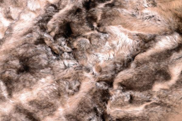 женщины природы волос кожи шаблон животного Сток-фото © rabel