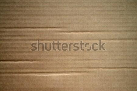 Carton texture art jaune macro emballage Photo stock © rabel