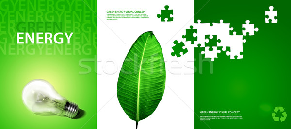 green energy visual concept  Stock photo © radoma