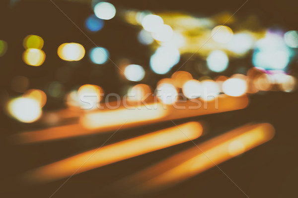 şehir trafik ışıkları yol ışık sokak araba Stok fotoğraf © radub85