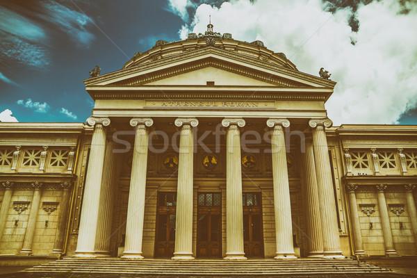 румынский римской город образование путешествия городского Сток-фото © radub85
