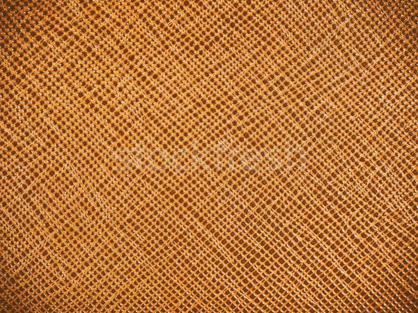 Vintage Natural Brown Leather Texture Background Stock photo © radub85