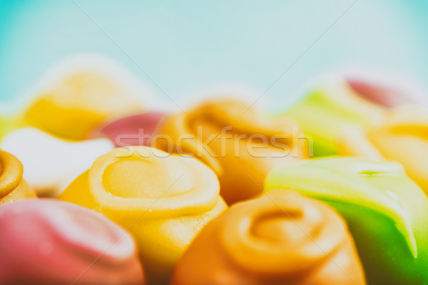 Coloré bonbons texture alimentaire fond gâteau Photo stock © radub85