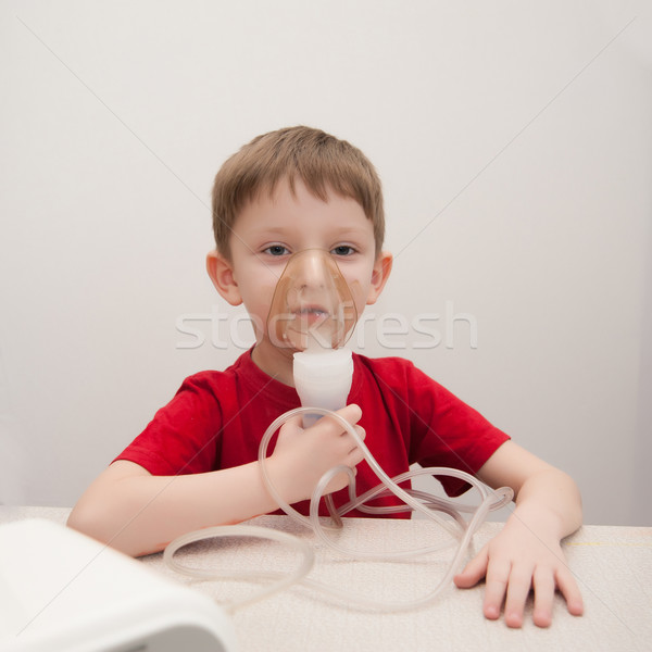 asthma treatment Stock photo © raduga21