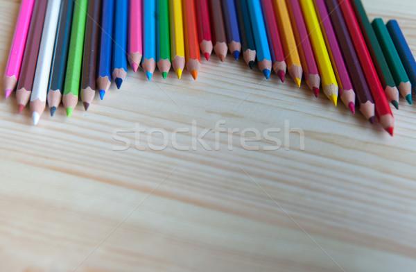 colored pencils Stock photo © raduga21