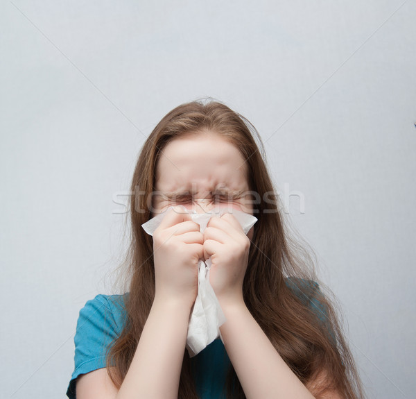 colds,allergies Stock photo © raduga21