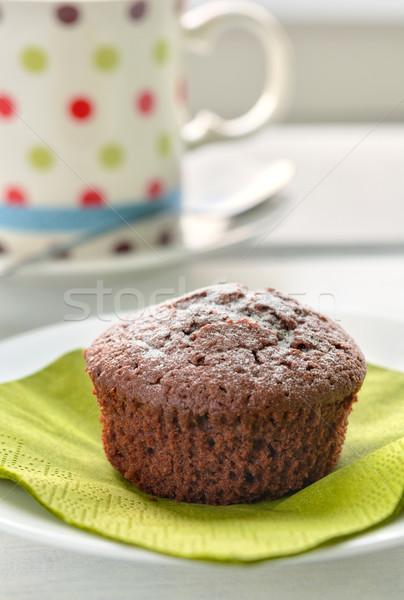 Chocolate Cupcake Stock photo © rafalstachura