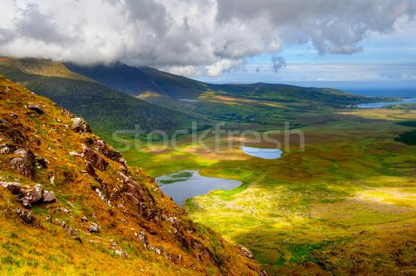 полуостров Солнечный горные озеро пейзаж Сток-фото © rafalstachura