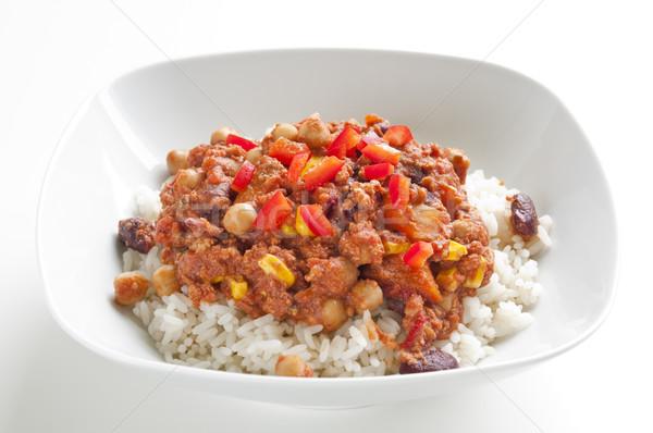 Chili con carne Stock photo © rafalstachura