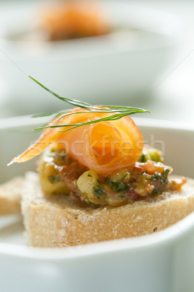 Apéritif pain pétrolières rouge Photo stock © rafalstachura