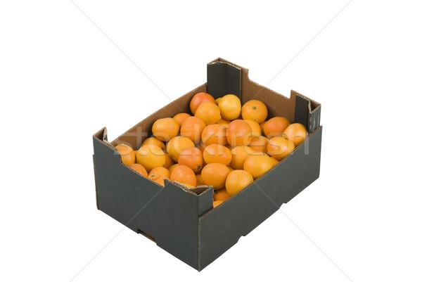 Box of Mandarins Stock photo © rafalstachura
