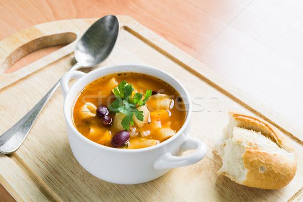 Minestrone Soup Stock photo © rafalstachura
