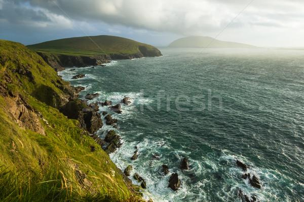 Schilderachtig west kust Ierland schiereiland Stockfoto © rafalstachura