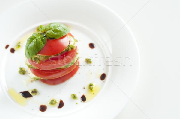 Stock photo: Mozzarella