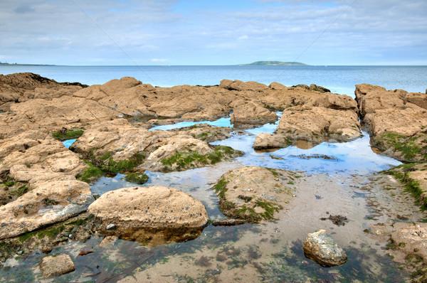 Kust Ierse zee Ierland kustlijn Stockfoto © rafalstachura
