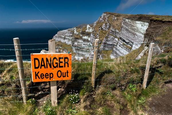 Danger Keep Out Sign Stock photo © rafalstachura
