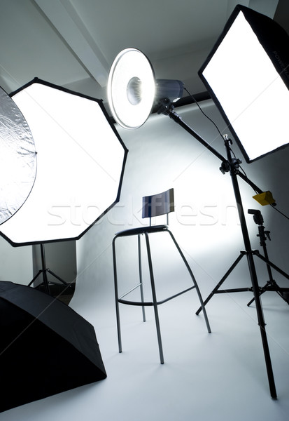 Photo studio Stock photo © rafalstachura