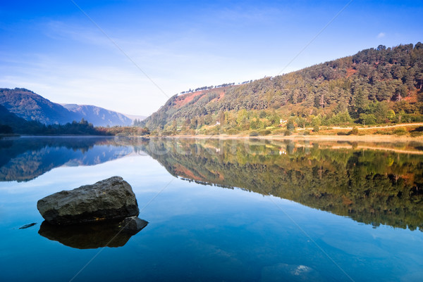 Lake in Glendalough Stock photo © rafalstachura
