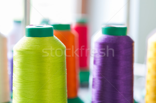 Colourful Sewing Threads Stock photo © rafalstachura