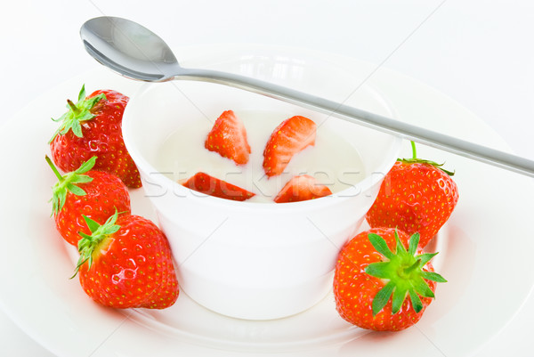 Strawberries Stock photo © rafalstachura