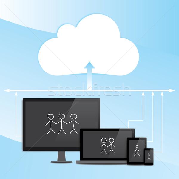 Cloud Computing Stock photo © rafalstachura