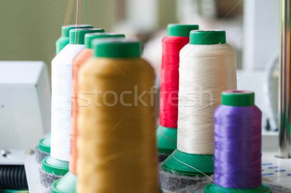 Colourful Sewing Threads Stock photo © rafalstachura