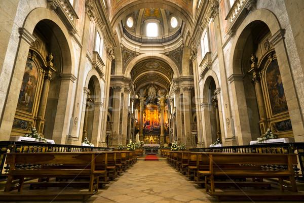 église intérieur jesus Voyage histoire antique Photo stock © rafalstachura