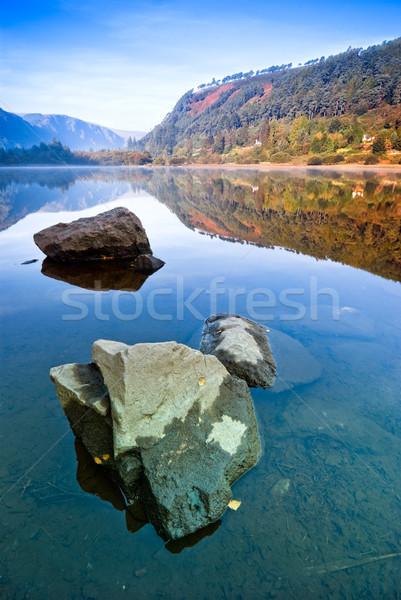 Upper Lake in Glendalough Stock photo © rafalstachura