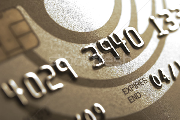 Gold Credit Card Stock photo © rafalstachura