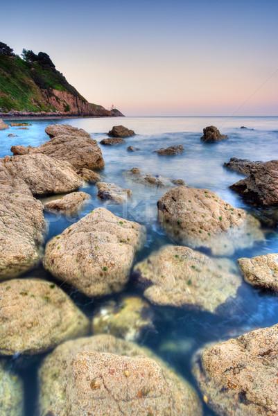 Irlande coucher du soleil rive péninsule république Photo stock © rafalstachura
