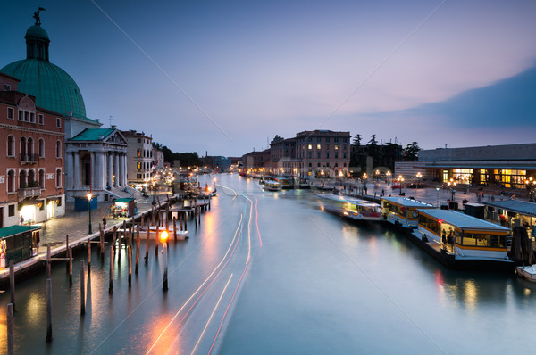 Venise longue exposition coup ciel ville Photo stock © rafalstachura