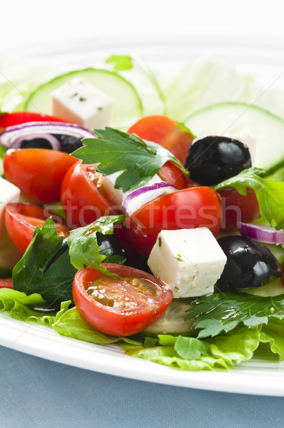 Greek salad Stock photo © rafalstachura