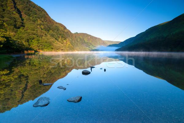 Scénique parc lac république Irlande eau Photo stock © rafalstachura
