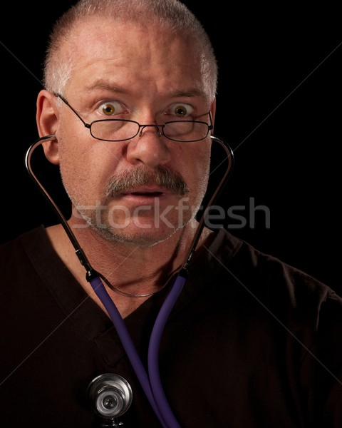 Aresztować człowiek atak serca opieki wellness pojęcia Zdjęcia stock © ralanscott