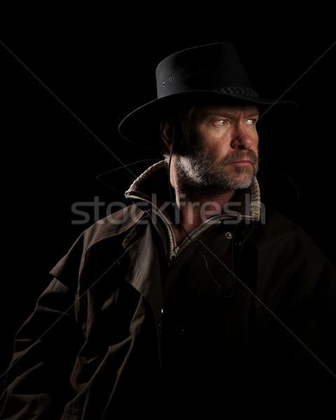 Man Tracker Stock photo © ralanscott