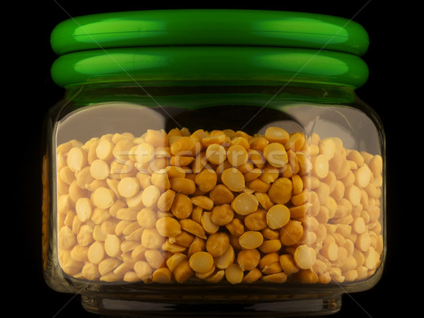 Chana Dal (Lentils) Stock photo © ralanscott