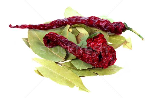 Photo stock: Rouge · chaud · chili · séché
