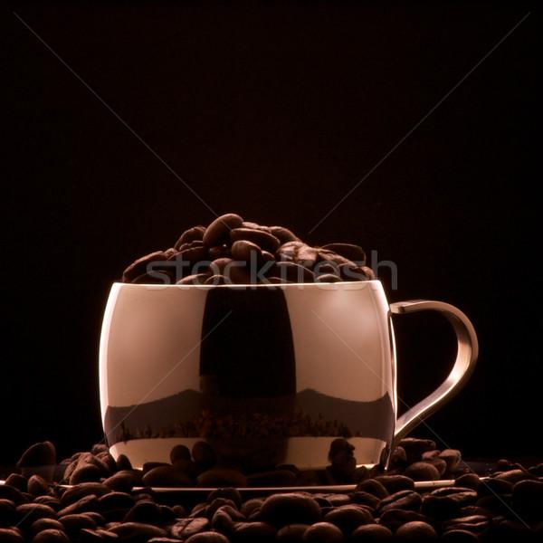Göstermek zaman bronz renkli fincan Stok fotoğraf © ralanscott